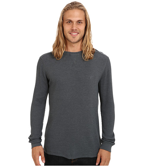 Volcom - Streight L/S Thermal (Dusty Bowl Indigo) Men