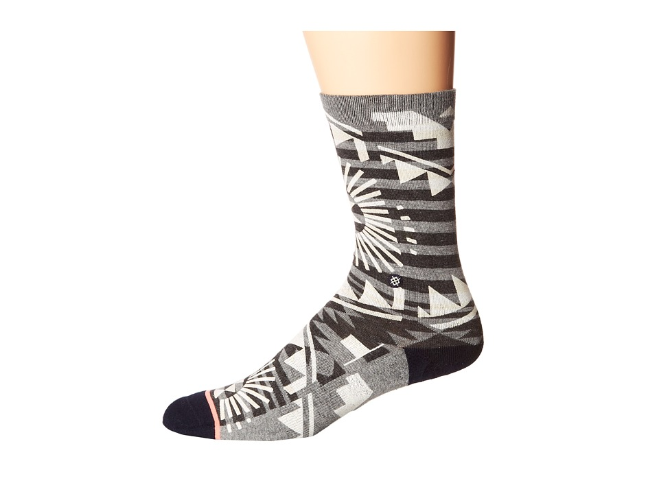 Stance - Giddy Up (Grey Heather) Women's Crew Cut Socks Shoes