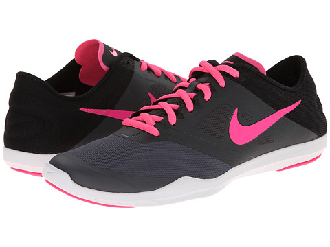 Nike - Studio Trainer 2 (Dark Grey/Anthracite/Black/Pink Pow) Women's Cross Training Shoes