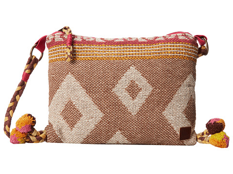 Roxy - Lush Crossbody (Rum Raisin) Cross Body Handbags