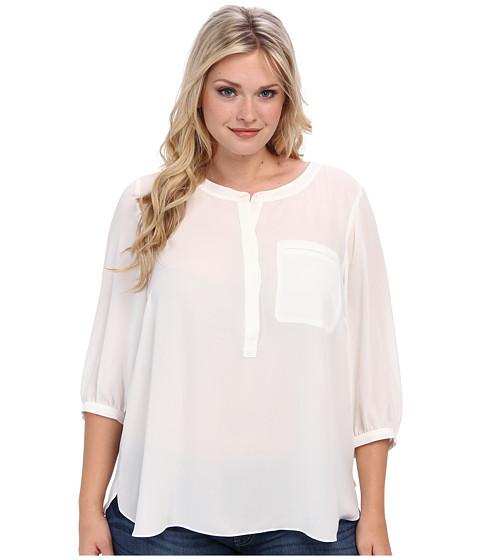 NYDJ Plus Size - Plus Size Georgette Blouse (Suger) Women's Blouse