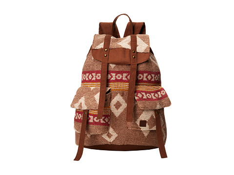 Roxy - Desert Road Rucksack (Rum Raisin) Backpack Bags