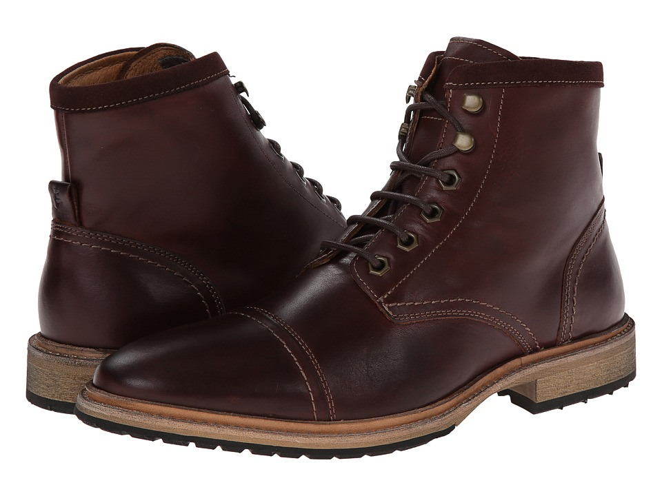 Florsheim Indie Cap Toe Boot (Chocolate Smooth) Men