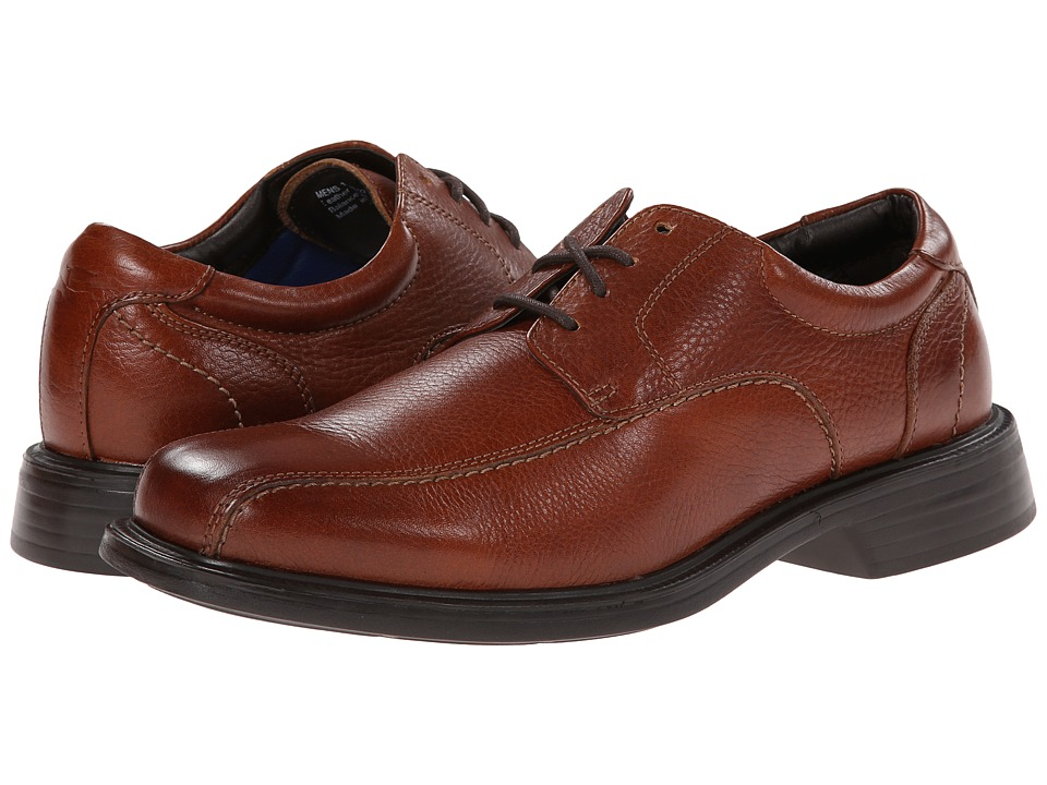 Florsheim - Freedom Bike Oxford (Cognac Milled) Men's Lace-up Bicycle Toe Shoes