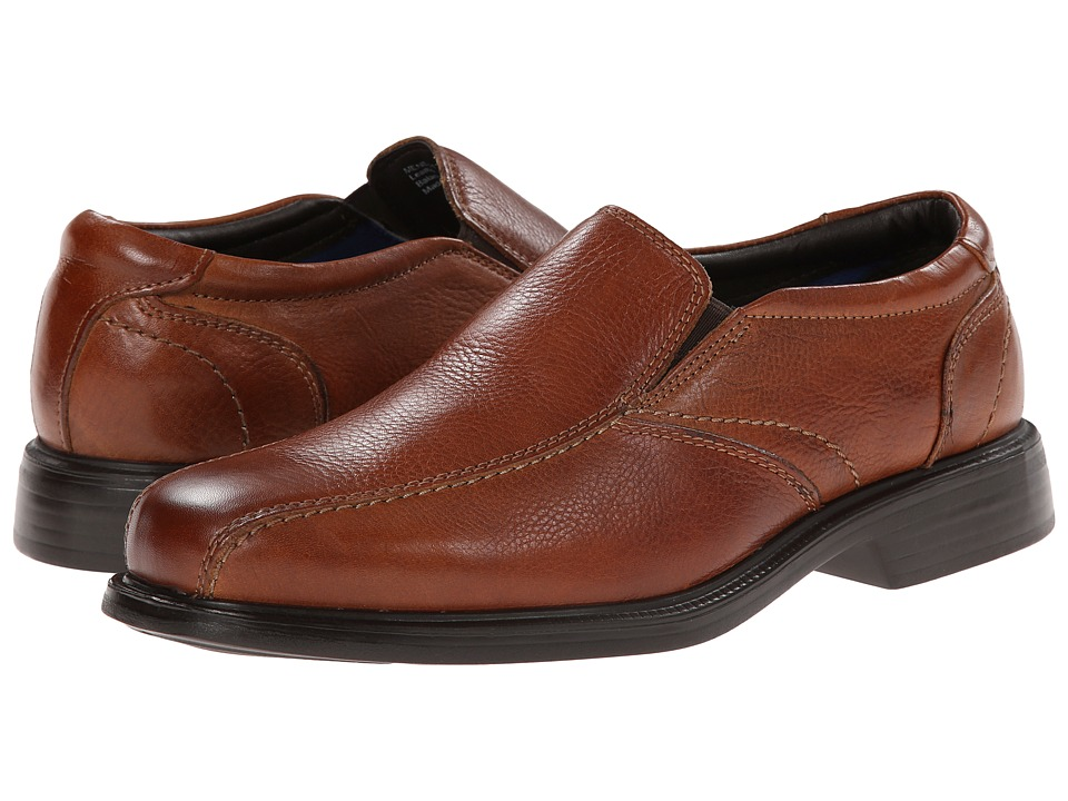 Florsheim - Freedom Bike Slip-On (Cognac Milled) Men's Lace-up Bicycle Toe Shoes