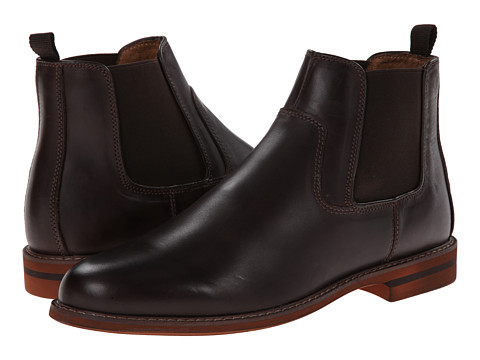Florsheim - Doon Gore Boot (Dark Brown Crazy Horse) Men's Dress Boots