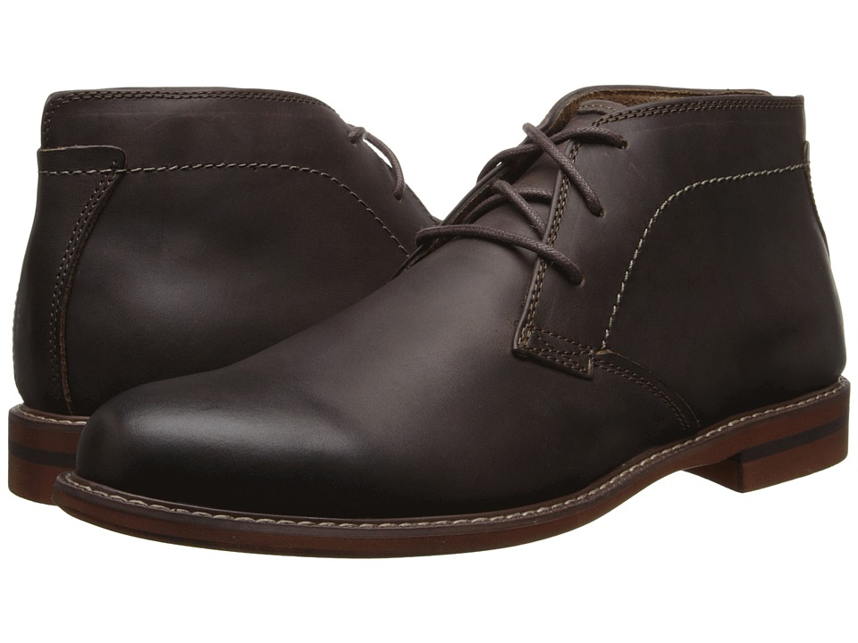 Florsheim - Doon Chukka Boot (Dark Brown Crazy Horse) Men's Lace-up Boots