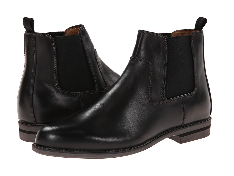 Florsheim Doon Gore Boot (Black Crazy Horse Leather) Men