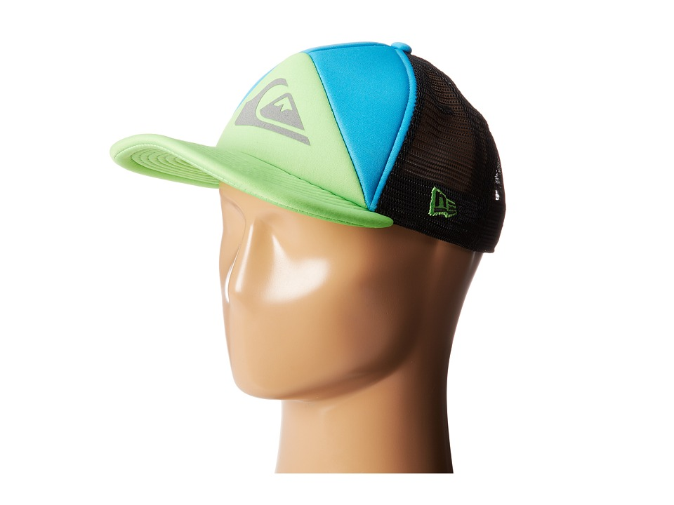 Quiksilver - New Wave Hat (Neon Blue) Baseball Caps