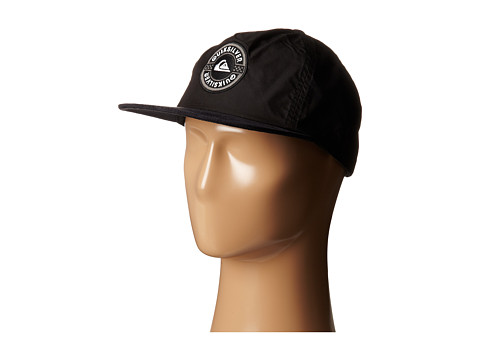 Quiksilver - Plastic Hat (Black) Baseball Caps