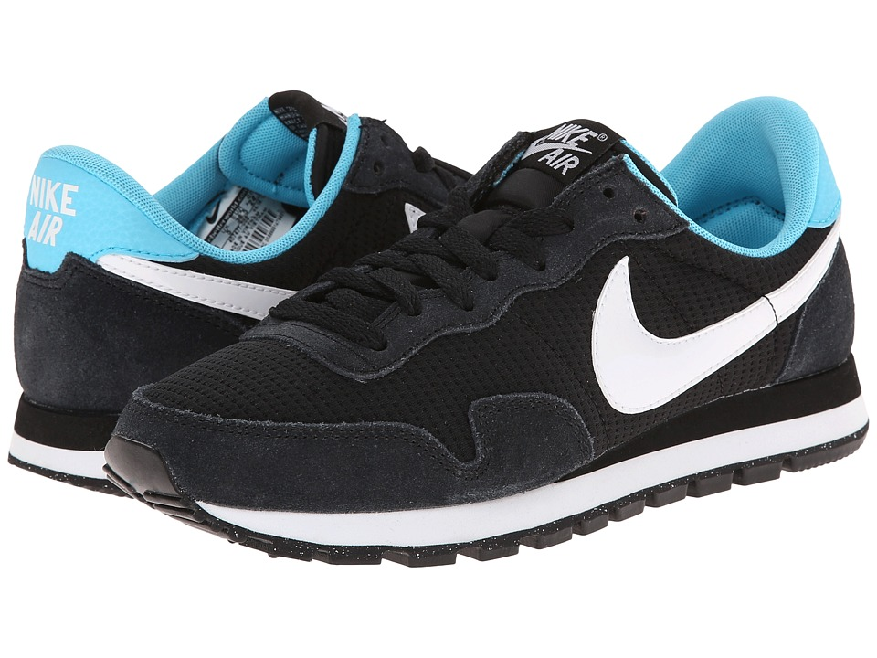 Nike - Air Pegasus '83 (Black/Clearwater/White) Women's Shoes