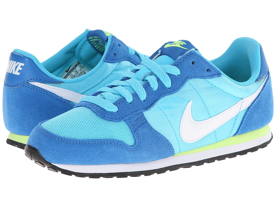Nike - Genicco (Clearwater/Dark Electric Blue/Volt/White) Women