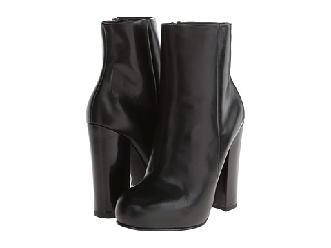 ASH - Darling (Black Box Calf/Polish Calf) Women's Zip Boots