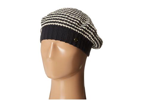 Roxy - Lafayette Slouchy Knit Beanie (True Black) Beanies