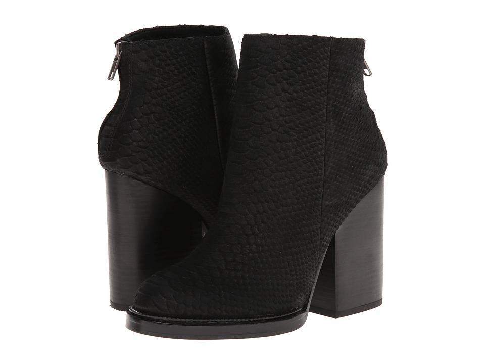 ASH - Delire (Black Python Calf) Women's Zip Boots