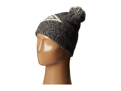 Roxy - Night Chill Knit Beanie (Charcoal Heather) Beanies
