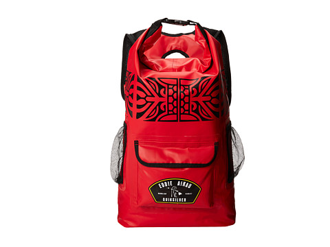 Quiksilver - Eddie Sea Stash Backpack (Quik Red) Backpack Bags