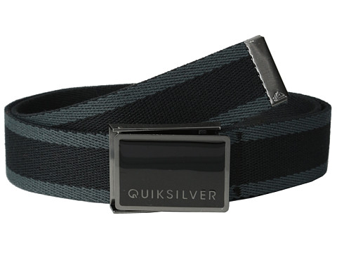 Quiksilver - Lint Belt (Vintage Black) Men's Belts