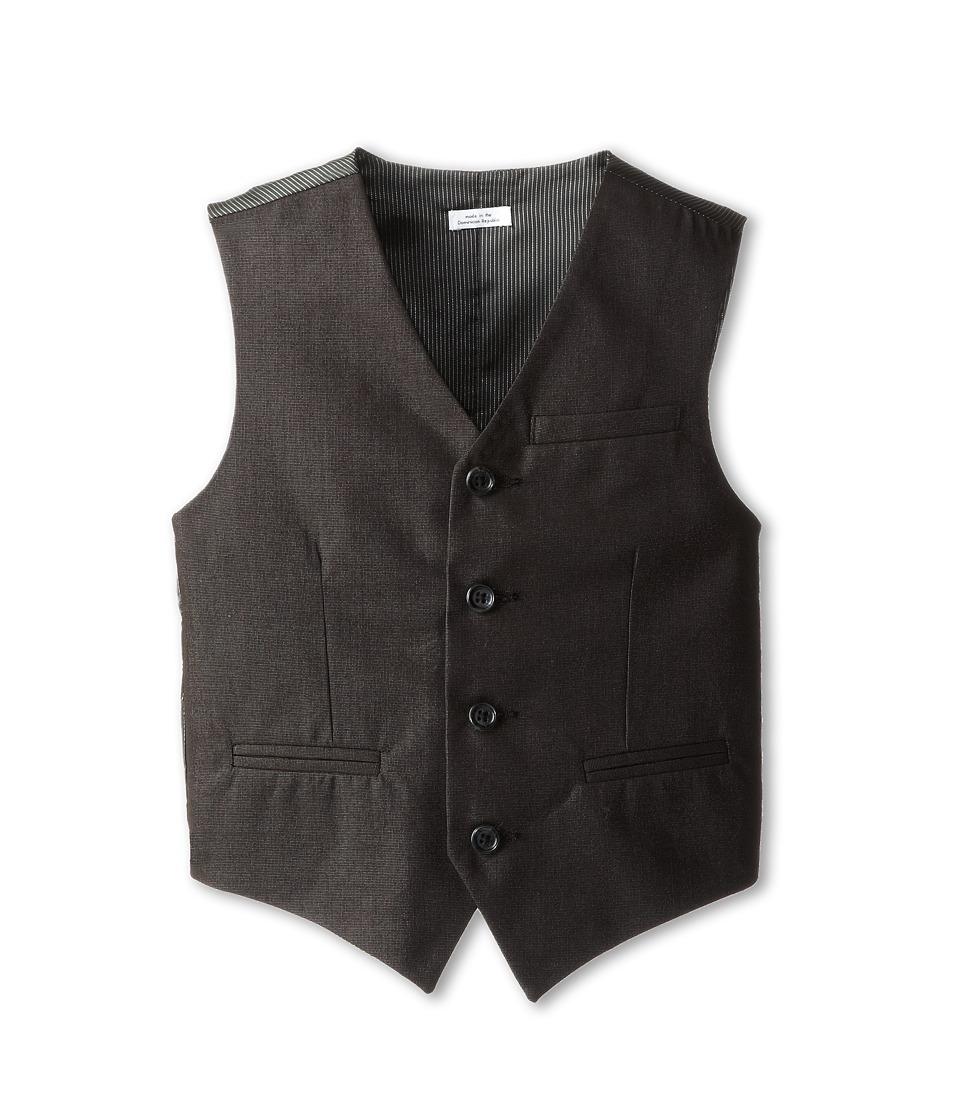 Calvin Klein Kids - CK Tick Vest (Big Kids) (Black) Boy's Vest