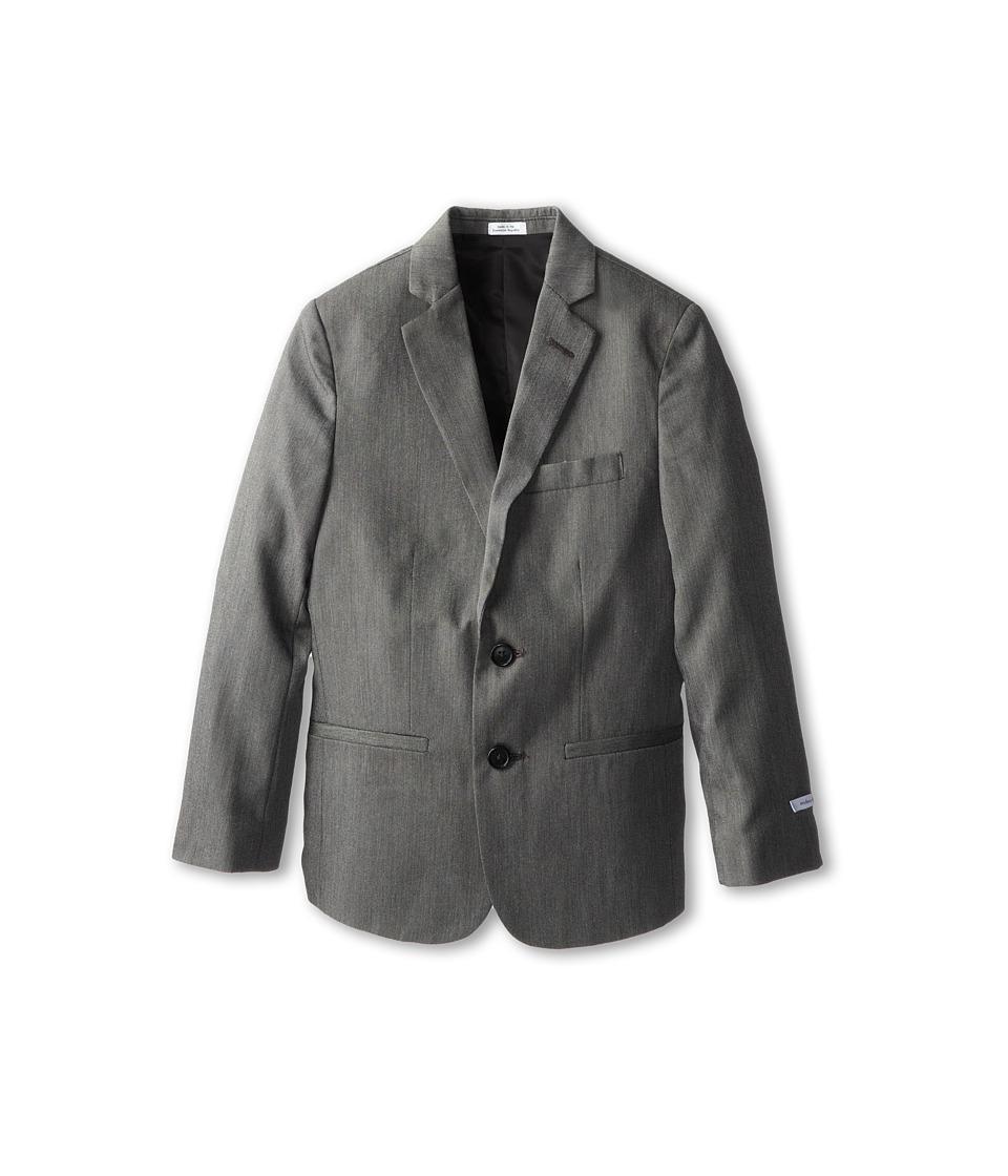 Calvin Klein Kids - CK Pindot Jacket (Big Kids) (Light Grey) Boy