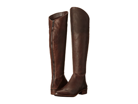 Dolce Vita - Meris (Espresso Leather) Women's Zip Boots