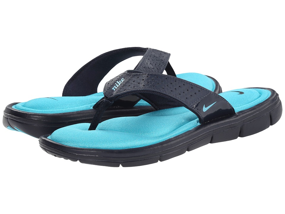 Nike Comfort Thong (Obsidian/Clearwater) Women