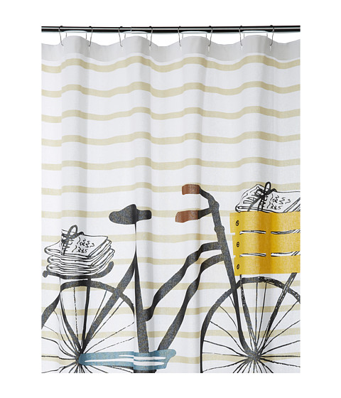 UPC 064180211496 Product Image For Danica Studio Bicicletta Shower Curtain Multi Bath Towels