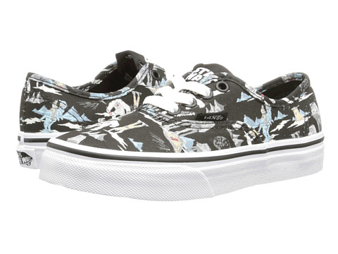 Vans Kids - Star Wars Authentic (Little Kid/Big Kid) ((Star Wars) Dark Side/Planet Hoth) Girls Shoes