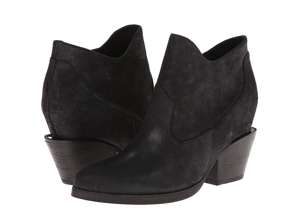 ASH - Moka (Black Reverse Broken) Women's Zip Boots
