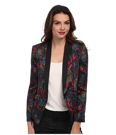 BCBGeneration - Shell Collar Blazer DQR4H737 (Viridian Combo) Women's Jacket