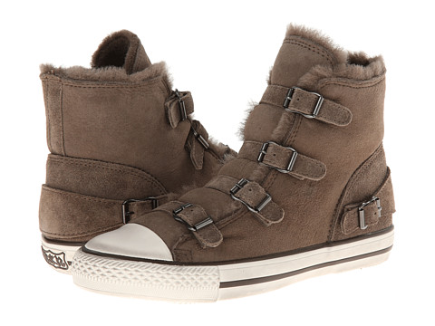 ASH - Virginy (Elephant Calf Suede/Shearling) Women's Shoes