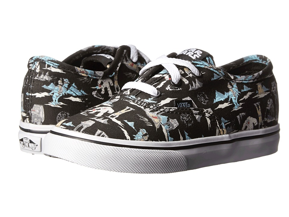 Vans Kids - Star Wars Authentic (Toddler) ((Star Wars) Dark Side/Planet Hoth) Kids Shoes