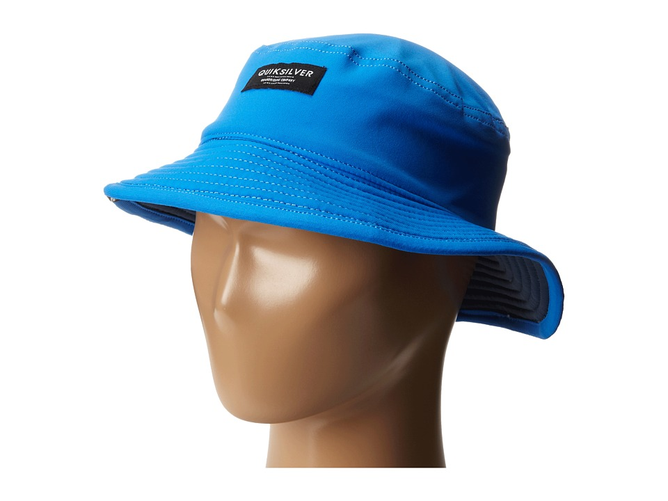 Quiksilver - Lycra Attack Hat (Little Kids) (Estate Blue) Bucket Caps