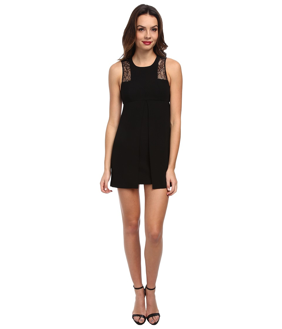 BCBGeneration - Racerback Dress w/ Cutout Back GEF64C26 (Black) Women's Dress