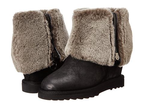 ASH - Yorki (Black Reverse Broken/Alaska) Women's Shoes