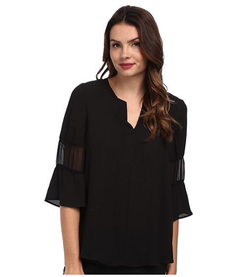 BCBGeneration - Blouson Sleeve Top QSD1T234 (Black) Women