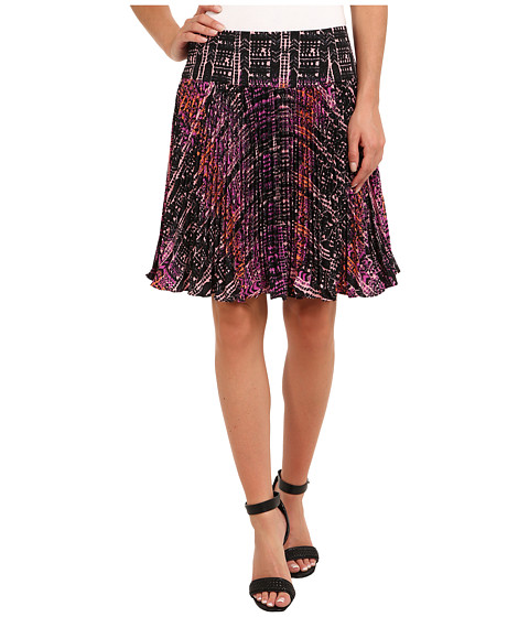 Nanette Lepore - Flippy Weave Skirt (Orchid Multi) Women