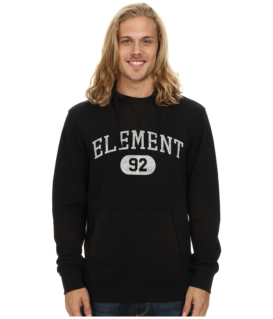 Element - Stadium French Terry Hoody (Black) Men's Sweatshirt