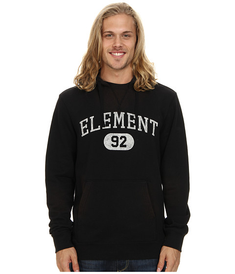 Element - Stadium French Terry Hoody (Black) Men