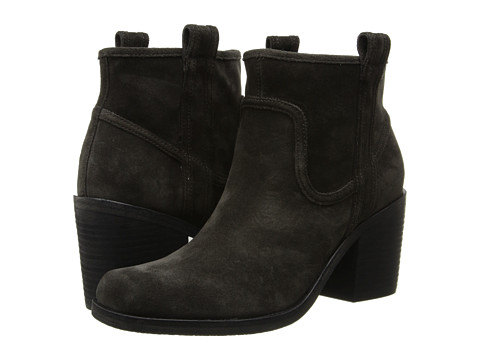 Belle by Sigerson Morrison - Lagoon (Dark Gray Suede Pizzara) Women's Pull-on Boots