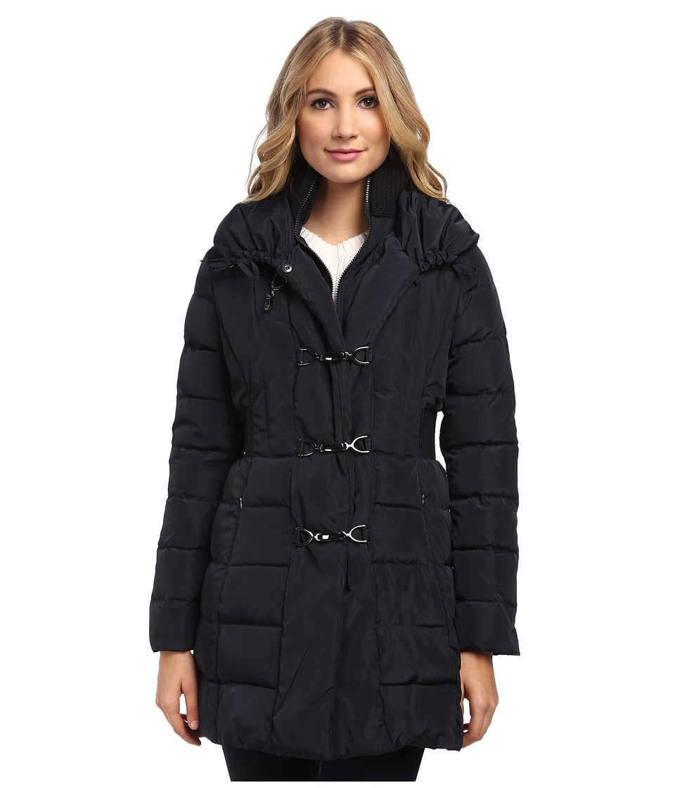 Jessica Simpson - Down with Fireman Toggle Closure (Navy) Women's Coat