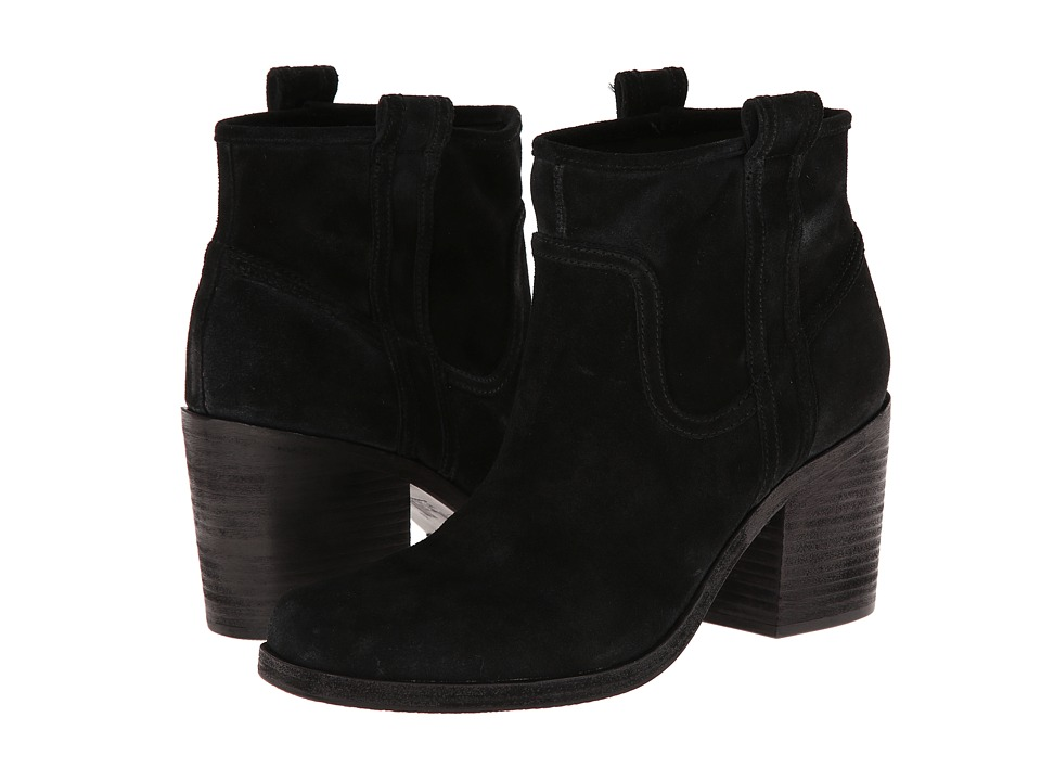 Belle by Sigerson Morrison - Lagoon (Black Suede) Women