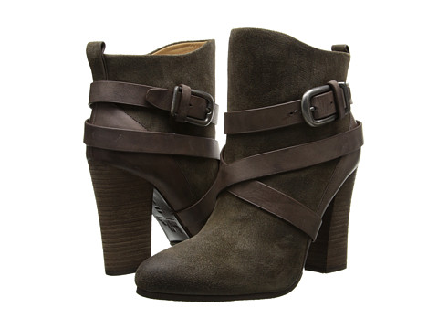 Belle by Sigerson Morrison - Floria (Alpaca/Iroko Taupe W Brown Leather) Women's Pull-on Boots