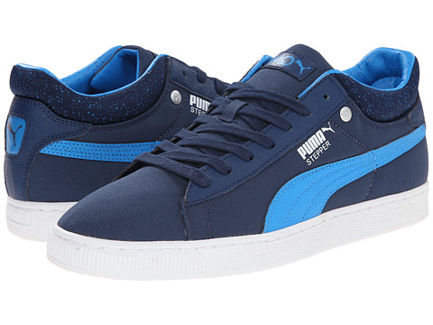 PUMA - Stepper Classic Hyper 90's (Insignia Blue/Blue Aster/White) Men's Lace Up Cap Toe Shoes
