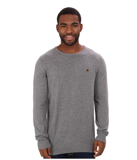 Billabong - All Day Crew Neck Sweater (Grey Heather) Men's Sweater