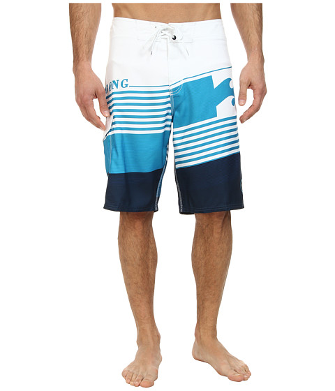 Billabong - Chopper Boardshort (White) Men's Swimwear