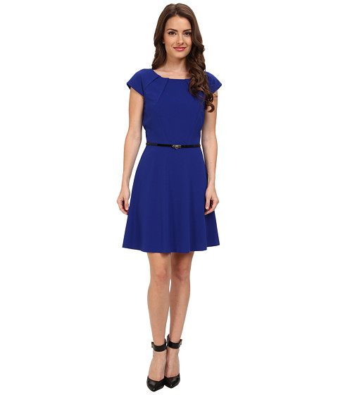 Tahari by ASL Petite - Petite Miranda Dress (Atlantis) Women