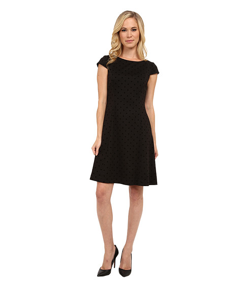 Tahari by ASL Petite - Petite Patty Dress (Black) Women