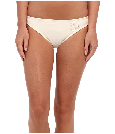 Juicy Couture - Terry Daisy Classic String Bottom (Angel) Women's Swimwear