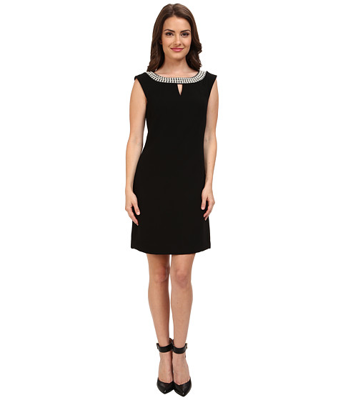 Tahari by ASL Petite - Petite Glenda Dress (Black) Women's Dress